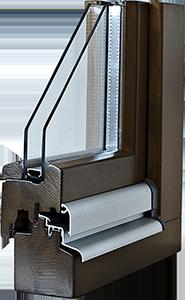 Fenêtres bois IV 68 Standard