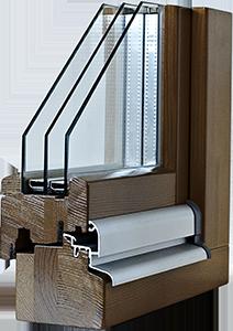 Fenêtres bois IV 90 Standard
