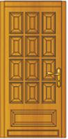 Porte extérieure classiques