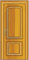 Porte intérieure classique